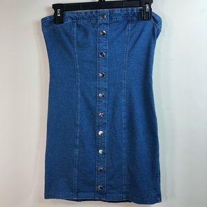 Denim Mini dress size M